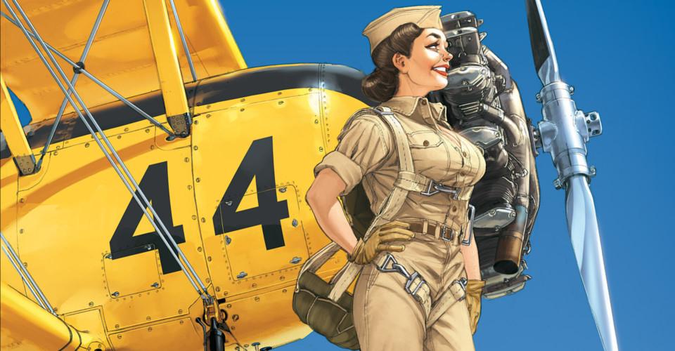 Hugault : Et l'avion tournait autour de l'hélice…