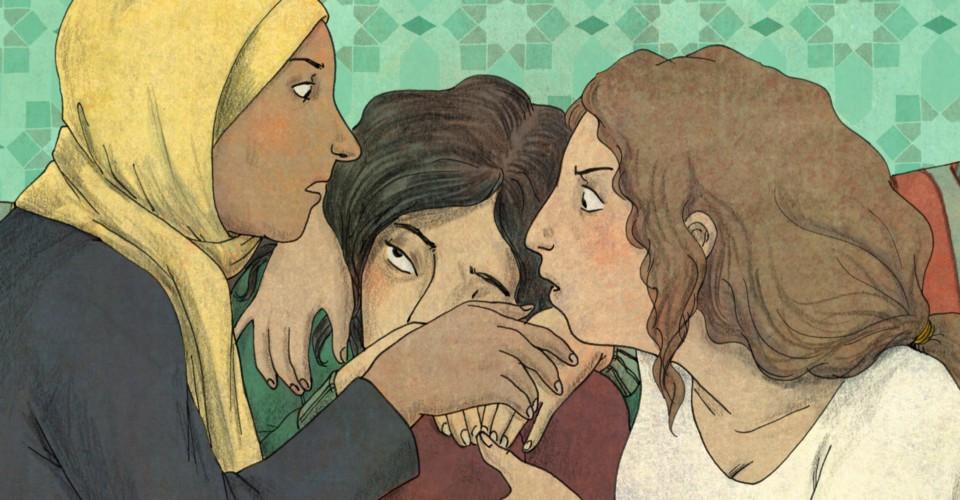 Leïla Slimani, prix Goncourt 2016, s'essaie à la BD avec Paroles d'honneur